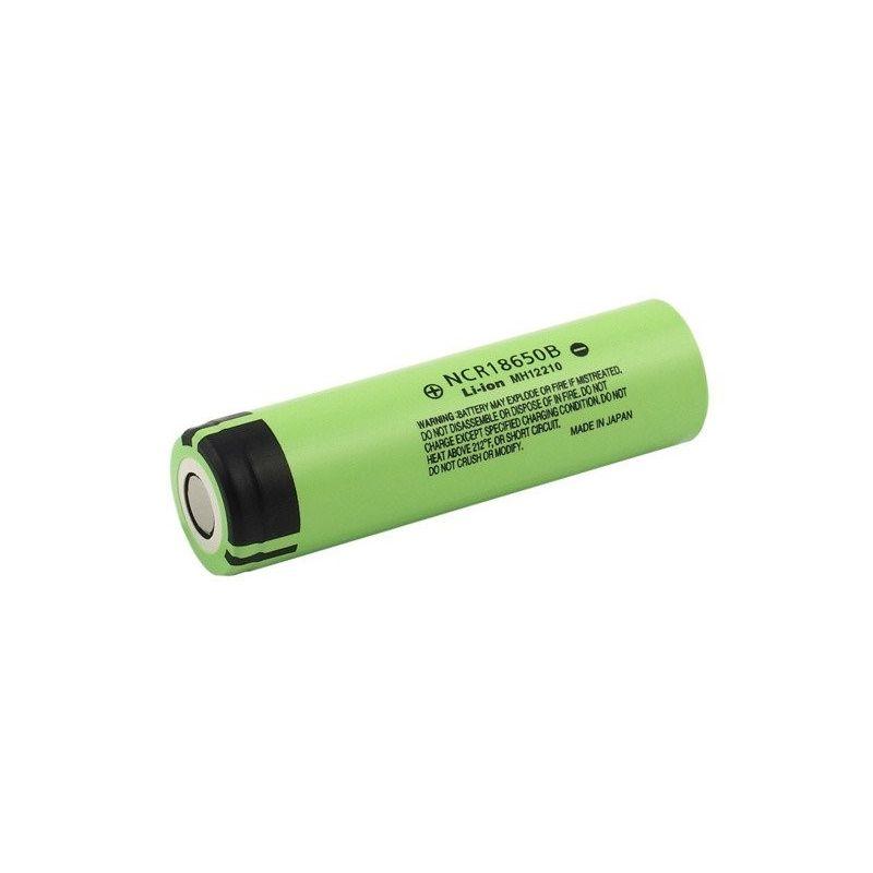 Panasonic rechargeable battery NCR18650B 3400mAh Li-ion