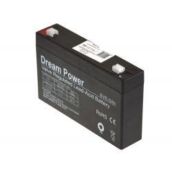 Batería de Gel 6V 6.6Ah