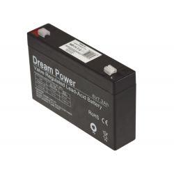 Bateria de gel de 6V 7Ah