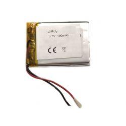 Battery LIPO 190mAh 3.7V 2...