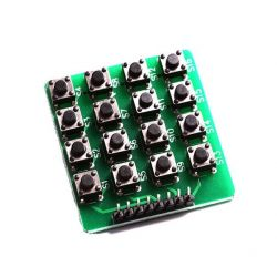 4x4 High Quality Keyboard Matrix Push Buttons 16 Touch Keys