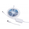 RGB LED Strip WS2812 5m with IR and Bluetooth remote control