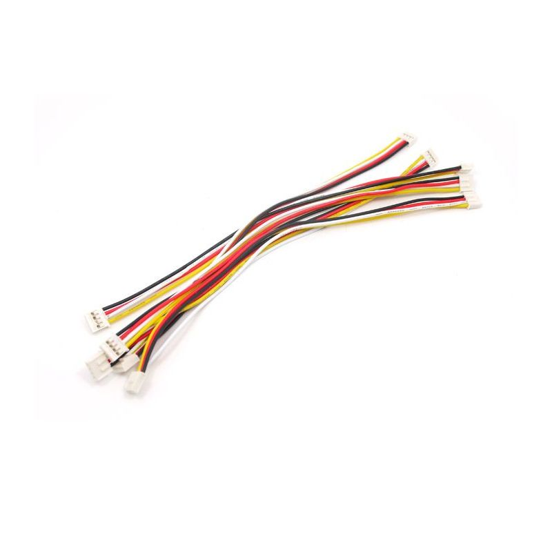 Grove - Universal 4 Pin 20cm Unbuckled Cable (5 PCs Pack)