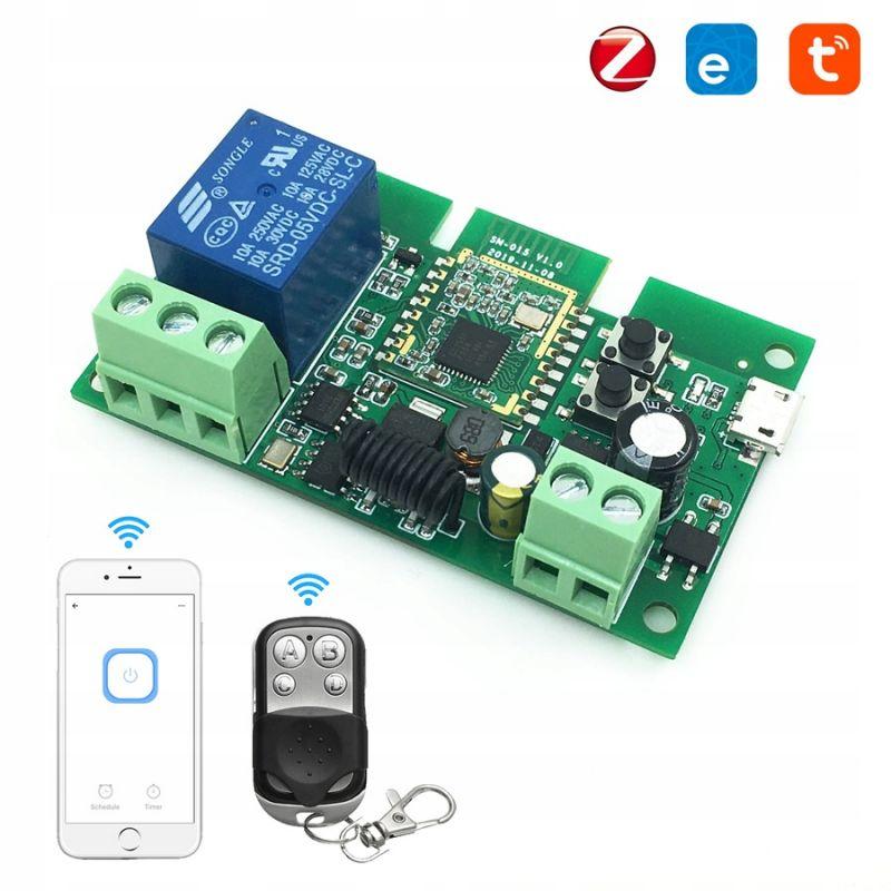 DC Switch 5-32V Relay 1 Channel ZigBee + RF433MHZ