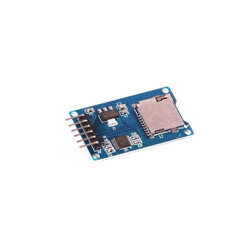 Módulo leitor/gravador de cartão Micro SD
