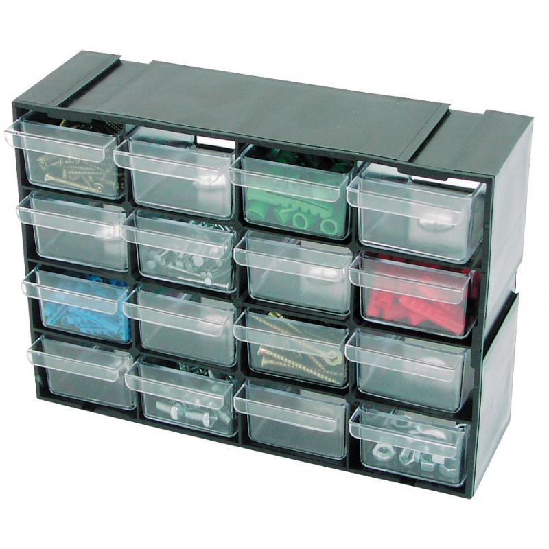 Component organizer for workshop / 32 drawers