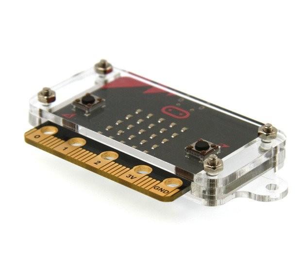 Caja de acrilico para microbit